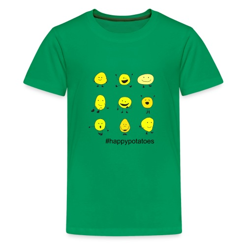 9 smilies - Teenager Premium T-Shirt