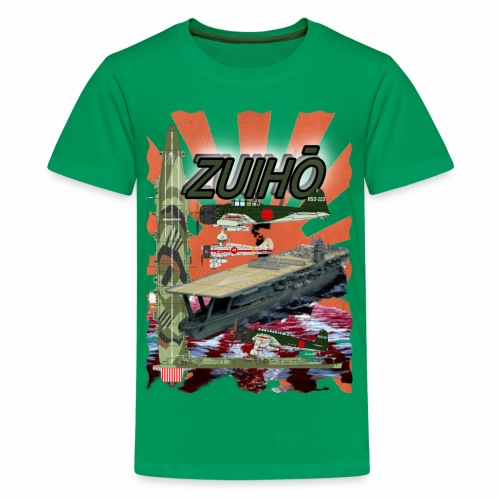 Zuiho Flugzeugträger - Teenager Premium T-Shirt