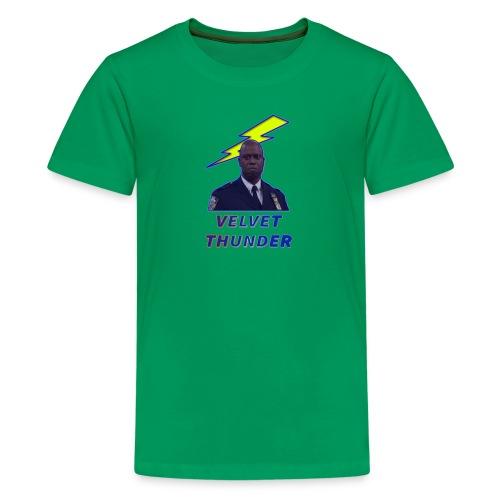 VELVET THUNDER - Teenage Premium T-Shirt