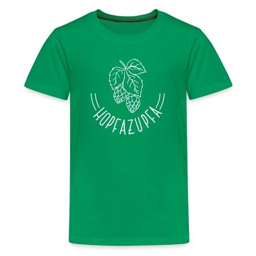 Hopfazupfa - Teenager Premium T-Shirt