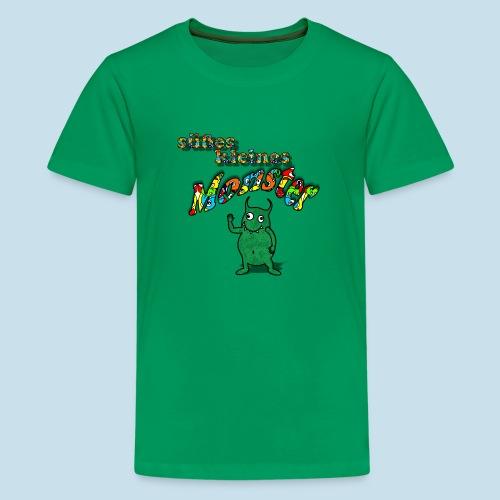 Süßes kleines Monster - Teenager Premium T-Shirt