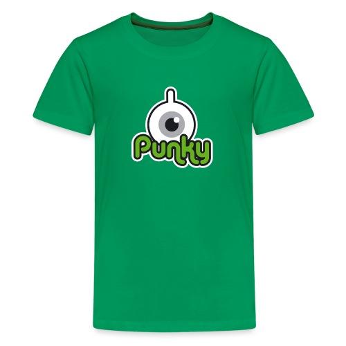 Punky Label (Color) - T-shirt Premium Ado