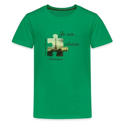 Je suis Autiste - Teenager Premium T-Shirt