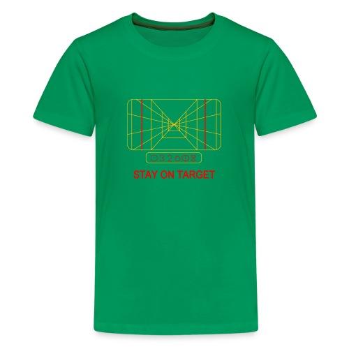 STAY ON TARGET 1977 TARGETING COMPUTER - Teenage Premium T-Shirt
