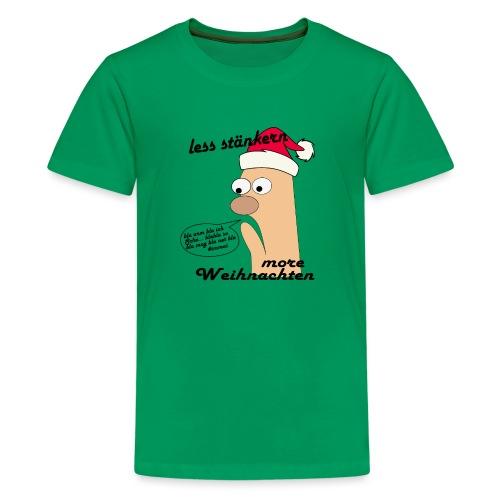 more Weihnachten - Teenager Premium T-Shirt