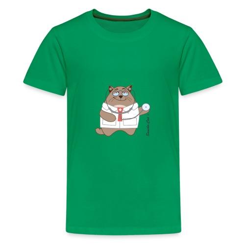 Katzen Arzt - Sancho Cat © - Teenager Premium T-Shirt