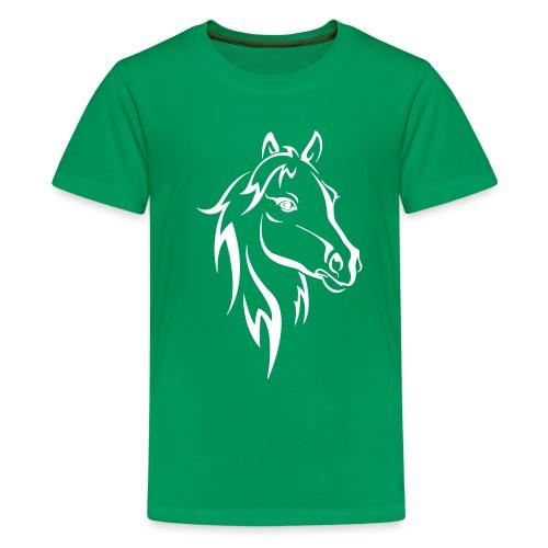 Vorschau: Horse - Teenager Premium T-Shirt