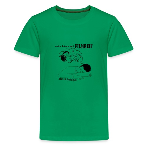 Narkolepsie Filmreif - Teenager Premium T-Shirt