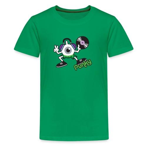 Punky DJay (Color) - T-shirt Premium Ado