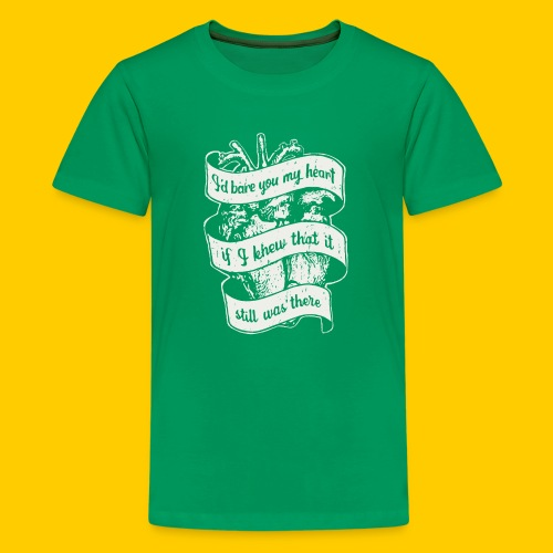 Lost heart (A tribute to The Dear Hunter) - Premium-T-shirt tonåring