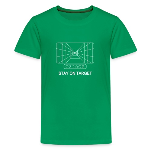 STAY ON TARGET 1977 TARGETING COMPUTER - Teenage Premium T-Shirt