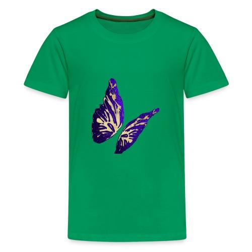 Golden Butterfly 2 - incantevole farfalla colorata - Maglietta Premium per ragazzi