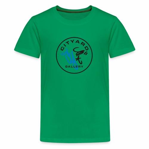 cityard org logo - Teenager premium T-shirt