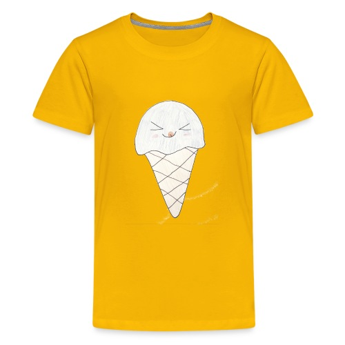 Kids for Kids: Icream 2 - Teenager Premium T-Shirt