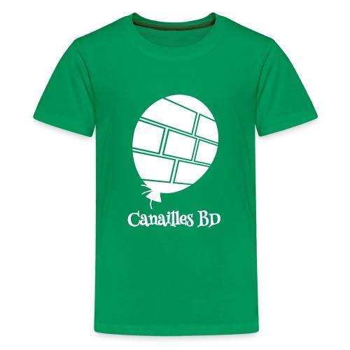 Canailles BD - T-shirt Premium Ado