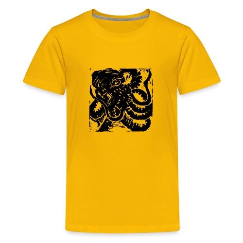 Museum Collection Octopus - Teenage Premium T-Shirt