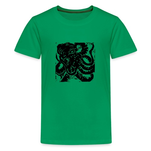 Museum Collection Octopus - Teenage Premium T-Shirt