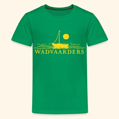 Wadvaarderslogo - Teenager Premium T-shirt