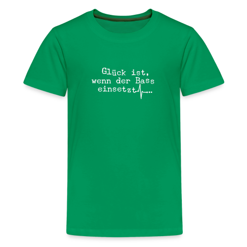 Bass - Teenager Premium T-Shirt
