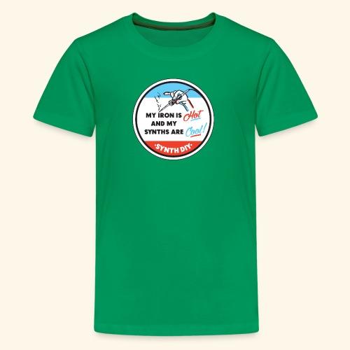 synthcool - Teinien premium t-paita