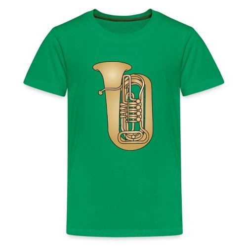 TUBA Blechblasinstrument - Teenager Premium T-Shirt