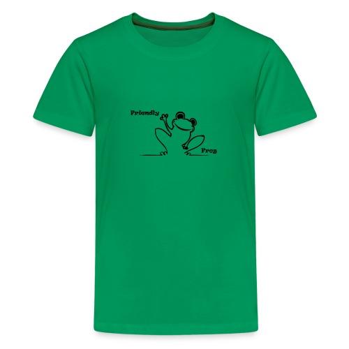 friendly_frog - Teenage Premium T-Shirt