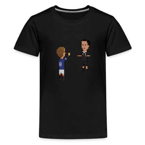 Referee boked - Teenage Premium T-Shirt