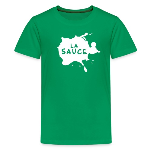 lasaucelogo blk - T-shirt Premium Ado