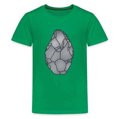 Faustkeil Steinzeit c - Teenager Premium T-Shirt