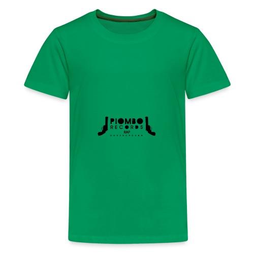 PIOMBO RECORDS NERO - Maglietta Premium per ragazzi