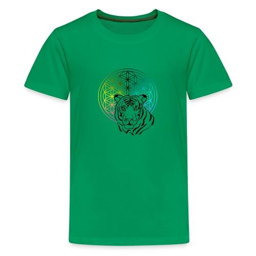 fleur de vie tigre - T-shirt Premium Ado