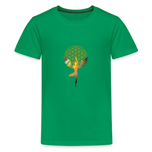 fleur de vie yoga 2 - T-shirt Premium Ado