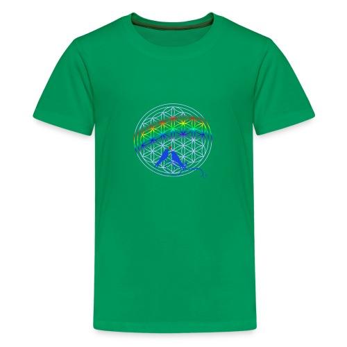 fleur de vie oiseau n°1 - T-shirt Premium Ado