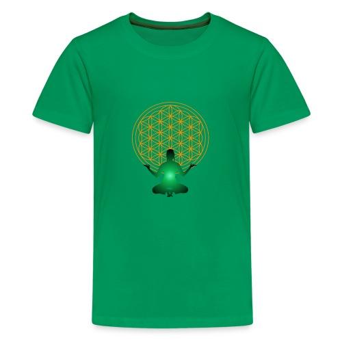 fleur de vie yoga n°4 - T-shirt Premium Ado