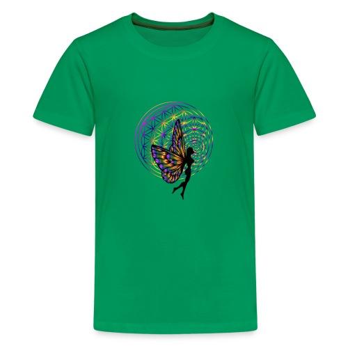 fleur de vie fée - T-shirt Premium Ado