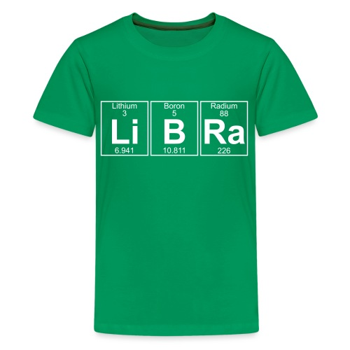 Li-B-Ra (libra) - Full - Teenage Premium T-Shirt