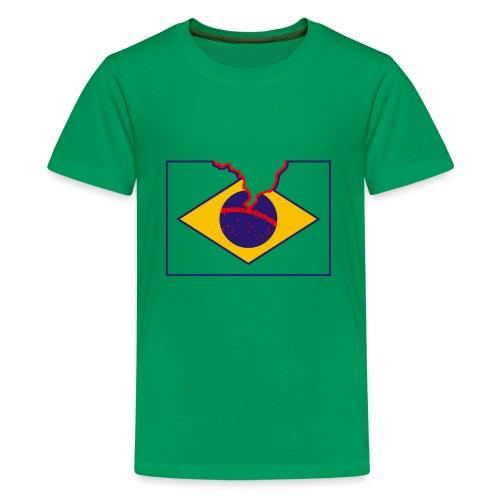 Livre Brasil - T-shirt Premium Ado
