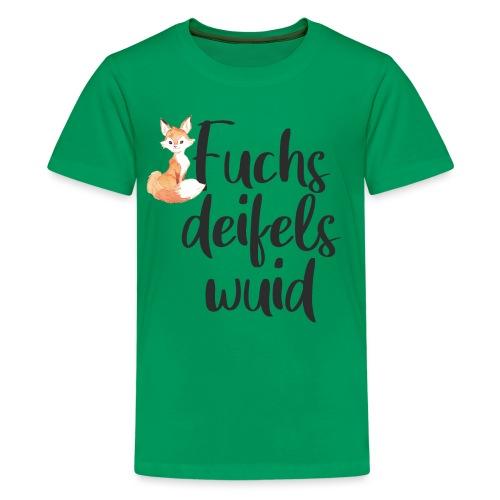Fuchsdeifelswuid - Teenager Premium T-Shirt