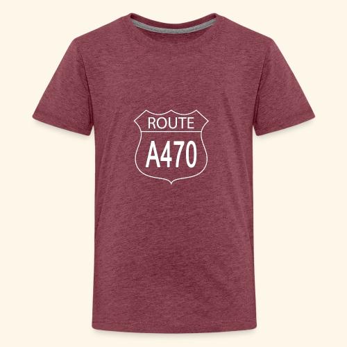 Route A470 - Teenage Premium T-Shirt
