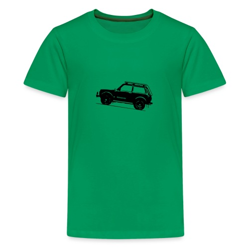 Lada Niva 2121 Russin 4x4 - Teenager Premium T-Shirt