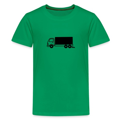 LKW lang - Teenager Premium T-Shirt