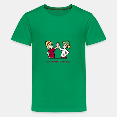 OvW-Verlag Ella und Xaver - Teenager Premium T-Shirt