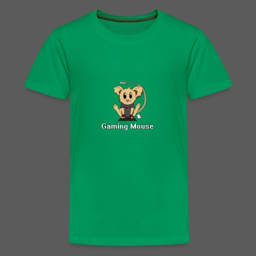 Gaming Mouse - Teenager Premium T-Shirt