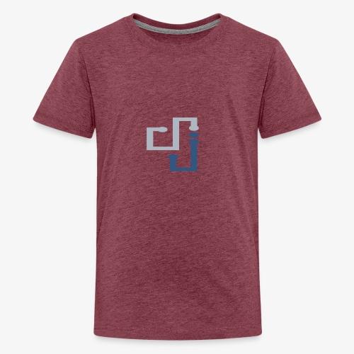Amo la música DJ - Camiseta premium adolescente