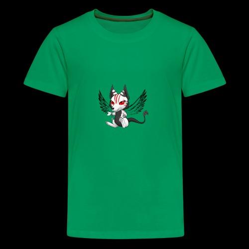 Démon Wolfire - T-shirt Premium Ado