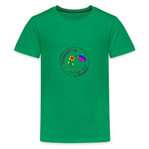 Kollektion - Blume - Teenager Premium T-Shirt