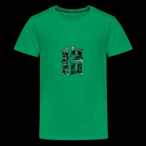 Skull thirteen - Premium-T-shirt tonåring
