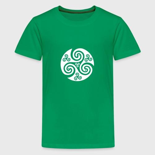 Triskel celtique - T-shirt Premium Ado