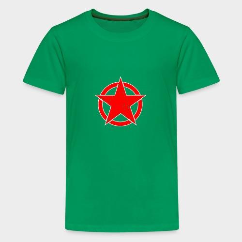 ESTRELLA EN CIRCULO - Camiseta premium adolescente