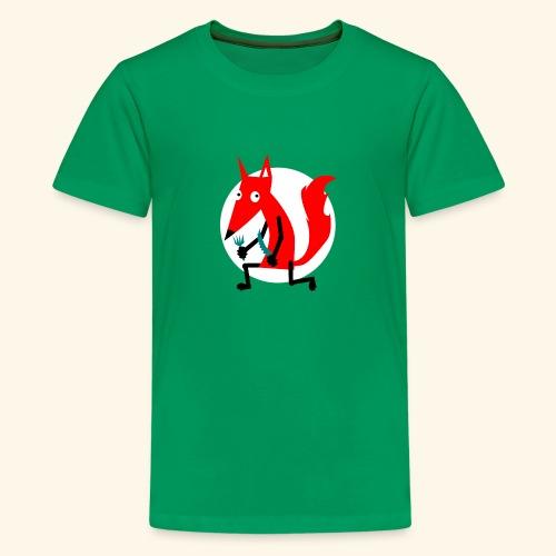 Zeichnung - Teenager Premium T-Shirt